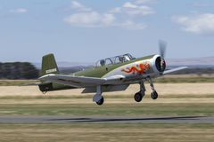 Nanchang CJ-6A former Chinese Air Force single engine trainer aircraft VH-CJG. stock photography