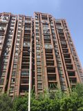 High-rise apartment building. Nanchang high-rise apartment building, community housing, new modern apartment royalty free stock images