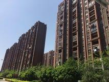 High-rise apartment building. Nanchang high-rise apartment building, community housing, new modern apartment stock images