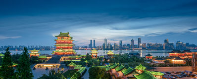 Nanchang Poetic scenery Royalty Free Stock Image