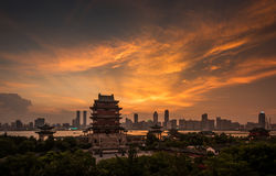 Nanchang Poetic scenery Royalty Free Stock Photos