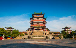 Nanchang Poetic scenery Royalty Free Stock Images