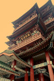 Nanchang tengwang pavilion , jiangxi, China. Royalty Free Stock Photo