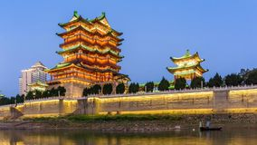 Chinese classical architecture stock video