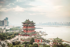 Nanchang tengwang pavilion. Is one of chinese famous ancient building stock photos