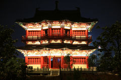 Nanchang tengwangpaviljong, jiangxi, Kina Royaltyfri Fotografi