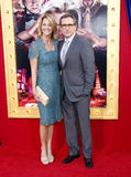 Nancy Carell and Steve Carell Royalty Free Stock Photography
