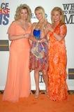 Nancy Davis, Parijs Hilton, Kathy Hilton Royalty-vrije Stock Afbeeldingen