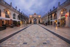 Nancy, França: Arco Héré fotos de stock