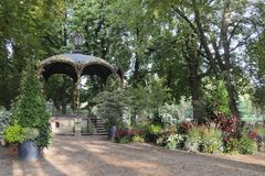 Nancy(France) - Gazebo in the park Stock Photography