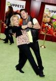 Nancy Grace and Valentin Chmerkovskiy Royalty Free Stock Photo
