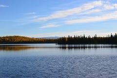 Nancy Lake in Alaska Stock Foto's