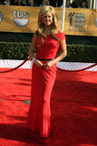 Nancy O'Dell. Arriving at the Screen Actors Guild Awards, at the Shrine Auditorium in Los Angeles, CA on January 25, 2009 stock photo
