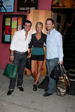 Nancy O'Dell, Tony Dovolani Photo libre de droits