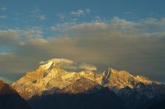 Nanda Devi peak in the morning Stock Photography