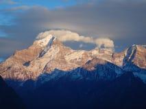 Nanda Devi Peak in morning Stock Photography