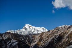 Nanda Ghunti. As seen on the way to Pathar Nauchani from Bedni Bugal, Roopkund Trek, Uttarakhand, India Royalty Free Stock Image