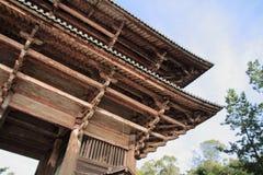 Nandaimon gate of Todai ji in Nara Royalty Free Stock Photography