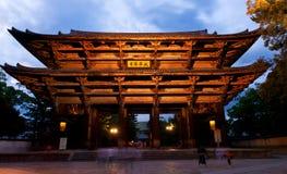 Nandaimon, the Great Southern Gate Royalty Free Stock Photo