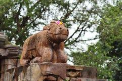 Nandi στο δάσος πόλο, Gujarat Στοκ φωτογραφία με δικαίωμα ελεύθερης χρήσης