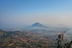 Nandi hills view stock photos