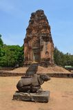 Nandi, le bull. sacré Cambodge Photos libres de droits