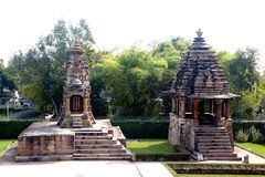 Nandi Mantap και ναός Varaha Στοκ εικόνες με δικαίωμα ελεύθερης χρήσης