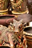 Nandi, Sacred Indian Statue Stock Image