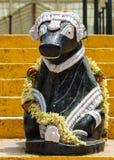 Nandi statue at Lal Bagh Botanical Garden in Bengaluru. Royalty Free Stock Photo