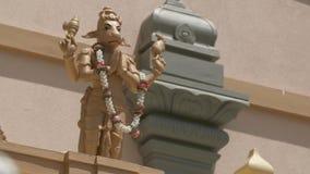 Nandi Statue In Namaste stock video