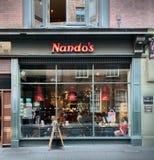 Nando ` s i Dublin Arkivfoto