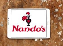Nando ` s restauracyjnego łańcuchu przypadkowy łomota logo Obraz Royalty Free