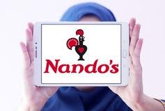 Nando ` s restauracyjnego łańcuchu przypadkowy łomota logo Zdjęcie Stock