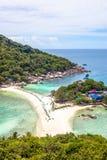 Nang元海岛在泰国 免版税库存照片