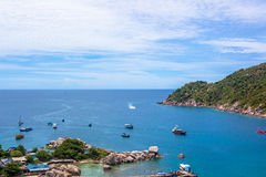 Nang元海岛在泰国 库存图片