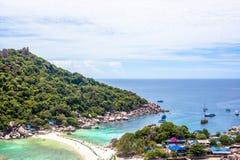 Nang元海岛在泰国 免版税图库摄影