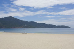 nang Вьетнам da фарфора пляжа Стоковая Фотография