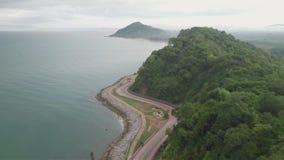 Nang Phaya小山风景点在庄他武里,泰国 影视素材