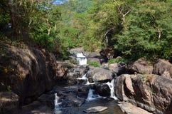 Nang Rong Waterfall in Nakhon Nayok, Thailand Royalty Free Stock Photos