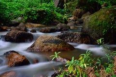 Nang rongvattenfall, Thailand Arkivbilder