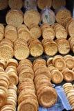 Nang traditionellt bröd av xinjiang, porslin Royaltyfri Foto