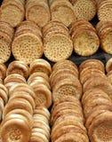 Nang traditionellt bröd av xinjiang, porslin Arkivbilder