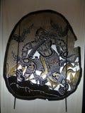 Nang Yai или драма тени марионетки на виске Wat Khanon, Таиланде Стоковые Изображения