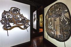 Nang Yai eller stort diagram för dockaskuggalek Royaltyfria Bilder