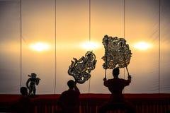 Nang Yai le jeu d'ombre grand Images stock
