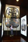 Nang Yai o figura grande del juego de sombra de las marionetas Imagenes de archivo