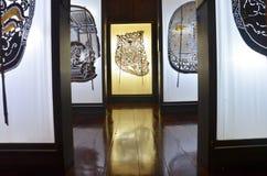 Nang Yai o figura grande del juego de sombra de las marionetas Fotos de archivo libres de regalías