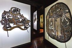 Nang Yai o figura grande del juego de sombra de las marionetas Imágenes de archivo libres de regalías