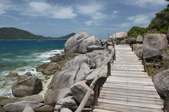 Nang-Yuan-Insel Stockbild