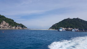 Nang Yuan Insel Stockbild